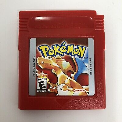 Pokemon Red Version Nintendo Game Boy Authentic Saves Tested