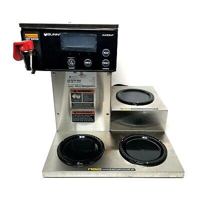 Bunn Axiom 15-3 38700.0002 Commercial Coffee Brewer Lower 3 Warmer 8 Gallon Hour