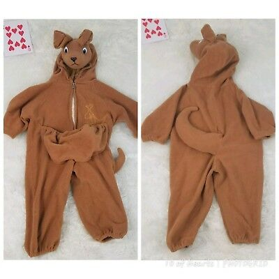 Kangaroo Toddler Halloween Costume Size 18 to 24 months Zip Pouch Tail (Kangaroo Tail Kostüme)