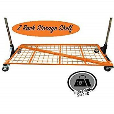 Only Hangers Heavy Duty Storage Base Shelf For Z Racks - Orange