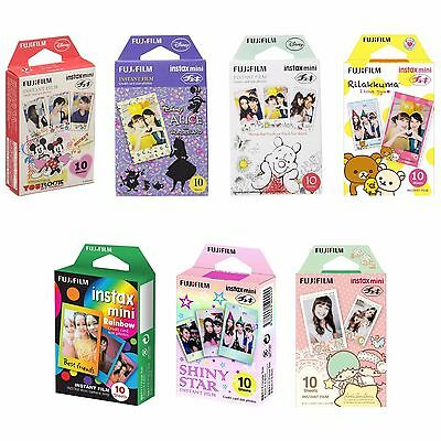 7 Packs FujiFilm Instax Mini Film Polaroid Picture 70 Instan