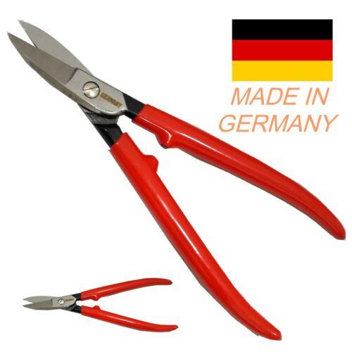 "PREMIUM Jewelers Shear Straight 7"" Steel Germany Plier Cutter Snip Sheet Cutting"