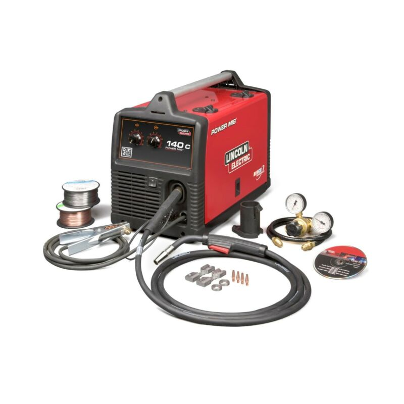 Lincoln Power MIG 140C MIG Welder Pkg. K2471-2