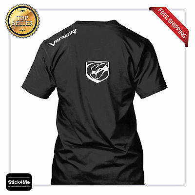 Dodge Viper Logo Snake New Hq Race Car Lover Sports Cars T Shirt 2 Day Sale