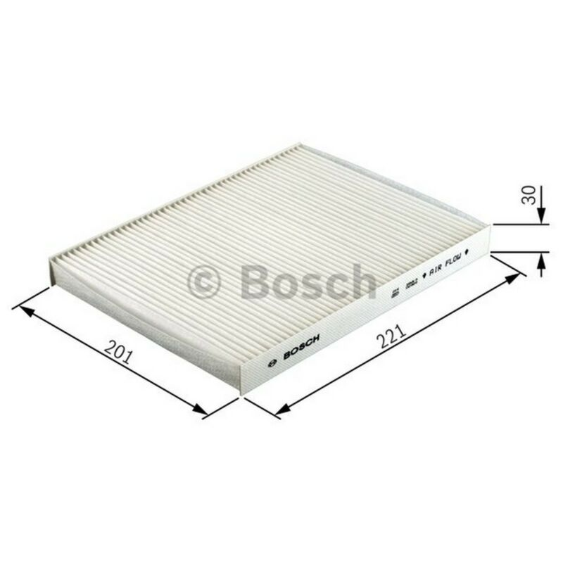 BOSCH Cabin Filter 1987432075 - Single