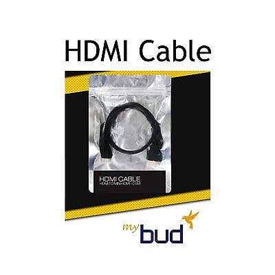 NEW ACCUPIX Mini HDMI to HDMI Cable 0.5m for MYBUD Video 3D Glasses