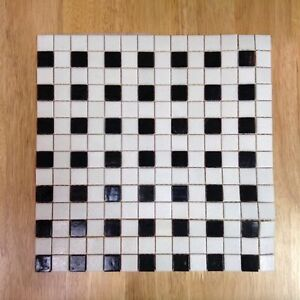 Black and White Checkered Tile #HFHGTA Newmarket ReStore