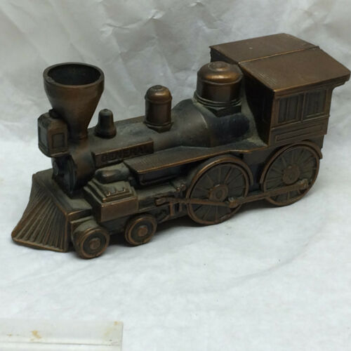 Vintage Banthrico Inc Train Bank Engine Cast Metal