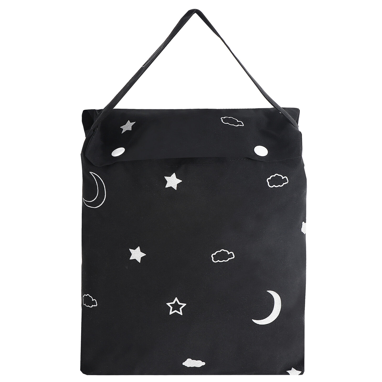 Portable Travel Baby Blackout Blind,Star and Moon Black with Suction Cups Curtains & Drapes