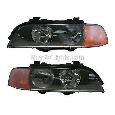 MONACO DYNASTY 2003 2004 2005 PAIR SET FRONT LIGHTS HEADLIGHTS HEAD LAMPS RV