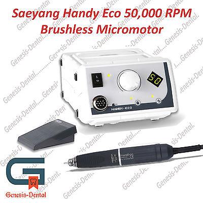 Brushless Micromotor 50000 Rpm Complete Set. Marathon Handy Eco. Dental Lab