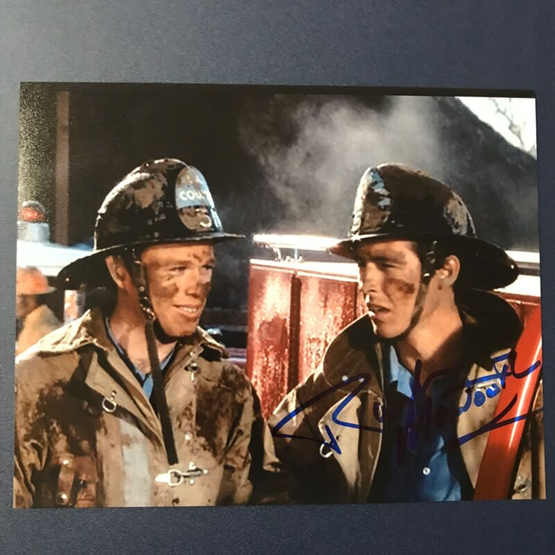 RANDOLPH MANTOOTH HAND SIGNED 8x10 PHOTO ACTOR AUTOGRAPHED EMERGENCY SHOW COA