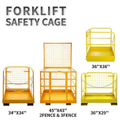 Forklift Safety Cage Forklift Work Platform Heavy Duty Aerial Lifting Baskets