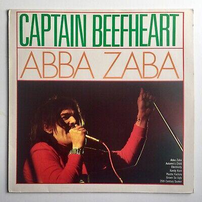 Captain Beefheart Abba Zaba Compilation LP Vinyl Record Magic Band Zappa Rock