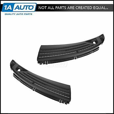 FORD Windshield Wiper Cowl Grille Insert Pair Set for Ford F150 Lincoln LT