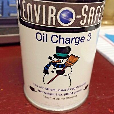 R22 Oil Charge R-22 3 Oz. Can Refrigerant With Lubricant