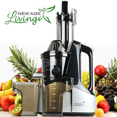 New Commercial Averse Juicer Masticating Cold Press Machine Fruit Vegetable S