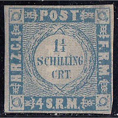Schleswig-Holstein Nr. 5 II ungestempelt