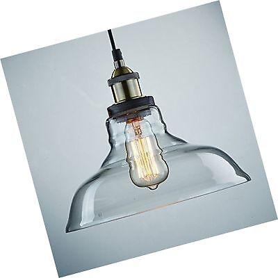 CLAXY Ecopower Industrial Edison Vintage Style 1-Light Penda