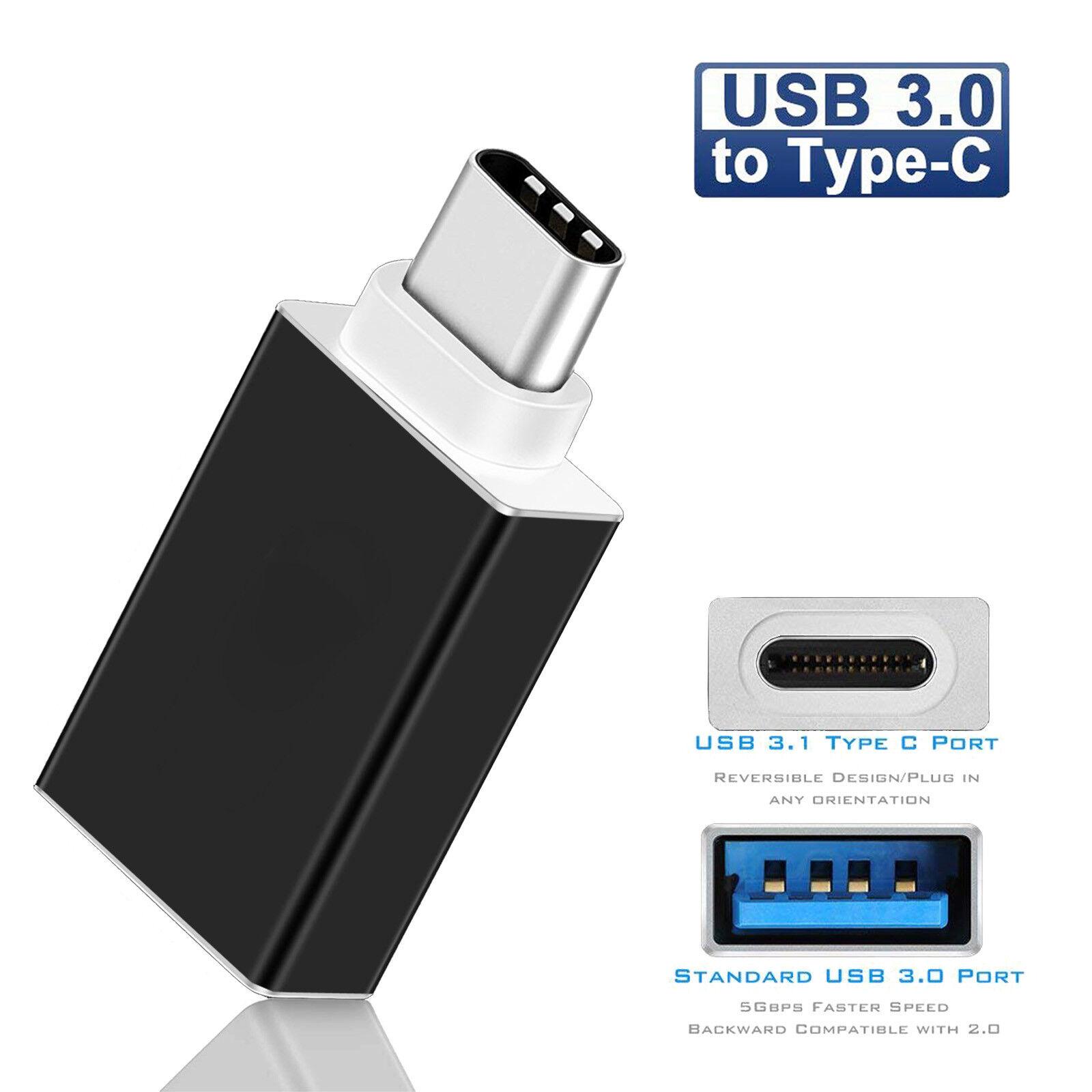 AU-NEW USB 3.1 Type C Male to USB 3.0 A Female Convertor OTG