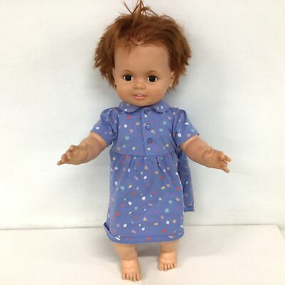 Ideal Toy Corporation Large Vintage Rubber Doll #5317