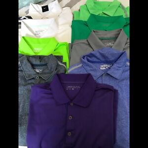 Men's Nike / Under Armour Golf Shirts