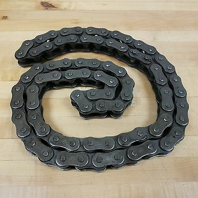 Morse 100r Roller Chain Ansi 100 Rivited 1 14 Pitch 8 Foot 4 Inches Long