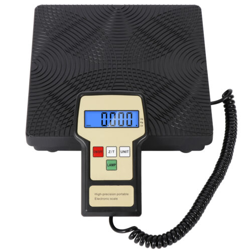 Digital Refrigerant Electronic Charging Scale Meters 220 lbs for HVAC with Case Business & Industrial