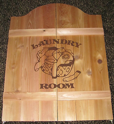 Laundry Room Saloon Cafe Swinging Pantry Doors Wood 24