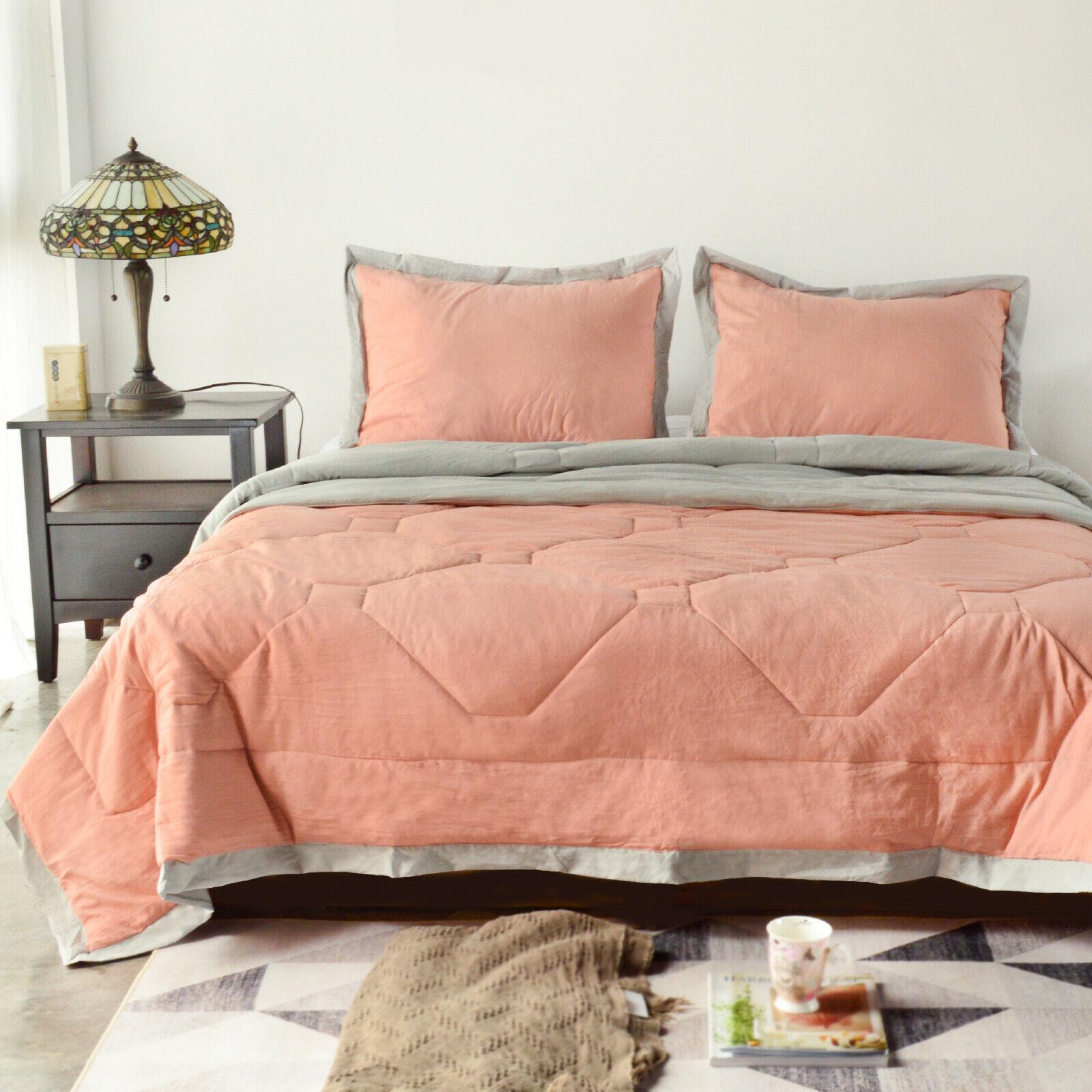 Luxury Soft Quilt Lightweight Comforter Quilted Microfiber B
