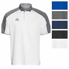 adidas Men's Modern Varsity Short Sleeve Polo Athletic Golf Poly Casual Shirt
