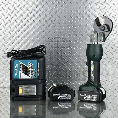 Greenlee Es20l Hydraulic Cable Wire Cutter Acsr Battery-operated 18v Li-ion