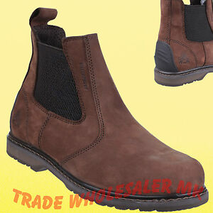 Safety-Boots-Dealer-Chelsea-style-Sperrin-Amblers-AS148-S3-SRA-Steel-Toecap