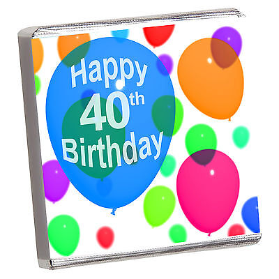 Best Birthday Party Favors (BIRTHDAY & ALL - 50 BEST PERSONALISED CHOCOLATE PARTY FAVOURS- HUGE)