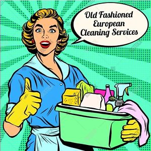 Old Fashioned European Cleaning