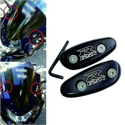 For 01-05 Suzuki GSXR GSX-R600 GSX-R750 NEW Mirror Block Offs Off Base Plates