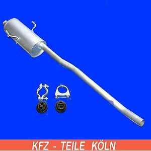 CITROEN-JUMPY-FIAT-SCUDO-PEUGEOT-EXPERT-1-6-1-9-D-Silenciador-Central