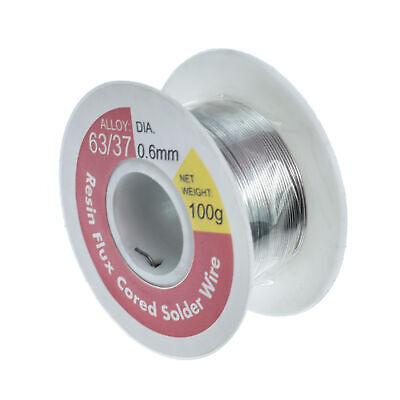 Rosin Core Flux 6337 Tin Lead 0.6mm Soldering Solder Wire 100g Spool Welding