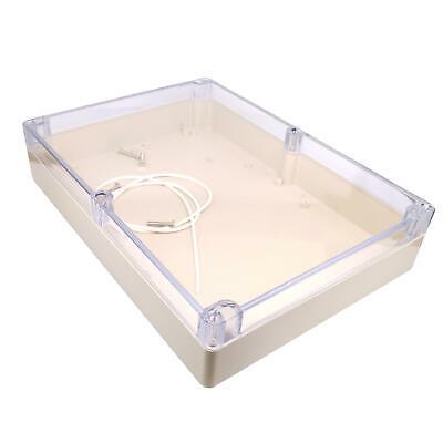 Us Stock 1pc Plastic Project Box Electronic Enclosure Case Diy 60 X 210 X 290mm