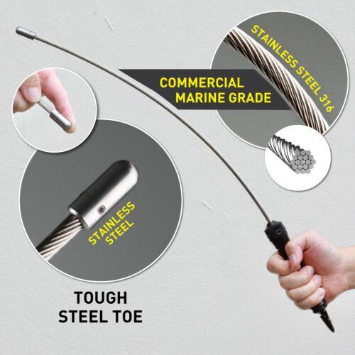 Stinger Stiff Flex Whip Car Emergency Escape Personal Safety Tool Window Breaker
