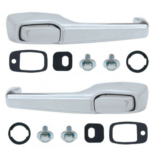 67 68 69 70 71 72 Chevy GMC Truck Suburban Blazer Outside Chrome Door Handles