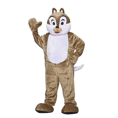 Adult Teen Plush Alvin And The Chipmunks Halloween Cosplay Costume Mascot Suit ](Alvin And The Chipmunks Costume)