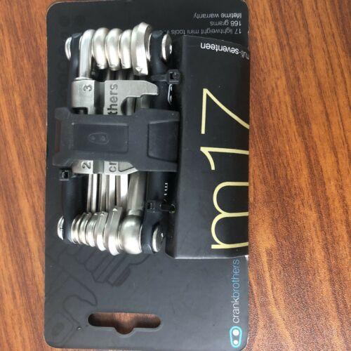 Crankbrothers M17 Bike Multi-Tool-nickel, 17 Functions, Lightweight