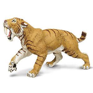 Smilodon Wild Safari Dinosaurs Figure Safari Ltd NEW Toys Educational Animals