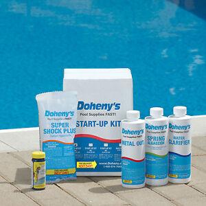 Dohenys Swimming Pool Start Up Kit 10 000 Gal