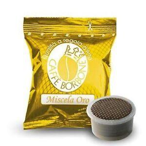 200-capsule-caffe-BORBONE-miscela-ORO-compatibili-Lavazza-Espresso-Point-cialde