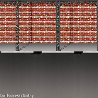 Mardi Gras Carnival Party Scene Setter Room Roll Backdrop - STREET & BRICK WALL