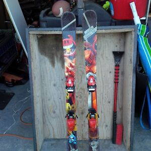 skiis and boots