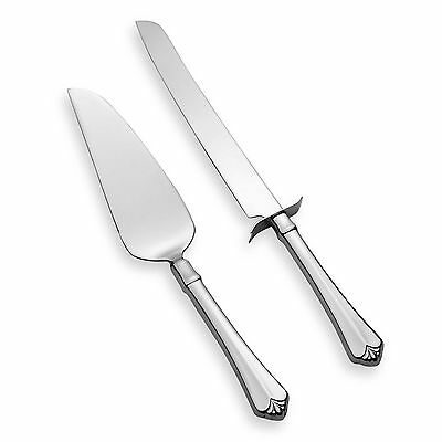 Oneida Juilliard 2 Piece Cake Serving Set 18/10 Stainless Flatware
