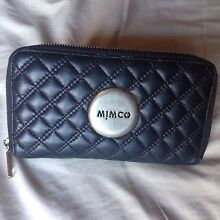 Mimco black leather wallet Cronulla Sutherland Area Preview